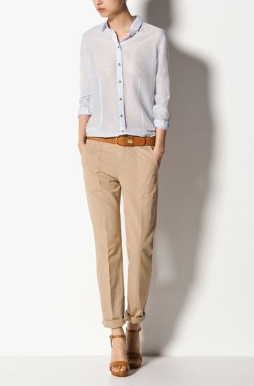 Massimo Dutti Trousers - WOMEN - United States