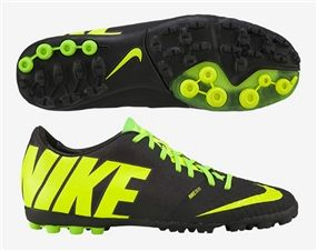 Top-o-de-line. The best Nike Turf shoe available, the Nike Bomba Finale II offers the best in touch, speed, and control. Get yours at soccercorner.com