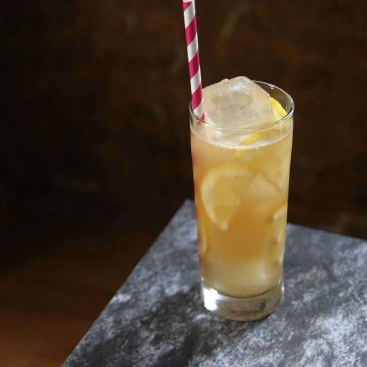 Peach Collins Recipe — Dishmaps