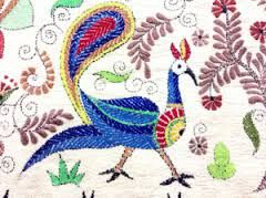 Image result for what is kantha embroidery