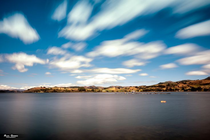 Lake Tota - Long exposure of Lake Tota in Boyaca Colombia