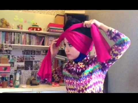 Turban Hijab Tutorial - YouTube