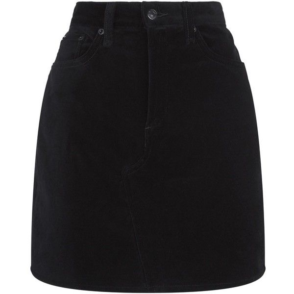Rag & Bone Velvet Mini Skirt (915 PEN) ❤ liked on Polyvore featuring skirts, mini skirts, bottoms, saias, velvet skirt, holiday skirts, short skirts and rag bone skirt