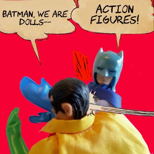 The Batman Slapping Meme in Megos, because you demanded it!