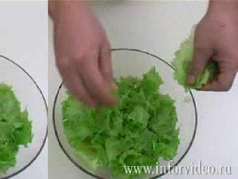 Греческий салат - YouTube
