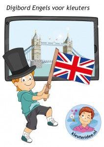 Digibord Engels voor kleuters
