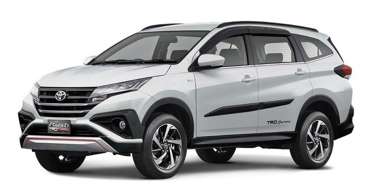2018 Toyota Rush Is Daihatsu Terios Indonesian Cousin #Asia #Daihatsu_Terios
