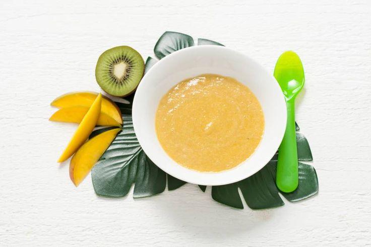 Exotische fruitsoorten zijn heel geschikt voor babyhapjes, want ze zijn zoet, zacht én fris - Recept - Allerhande