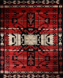 Hali Rugs - South West, Apache made from 100% New Zealand Wool