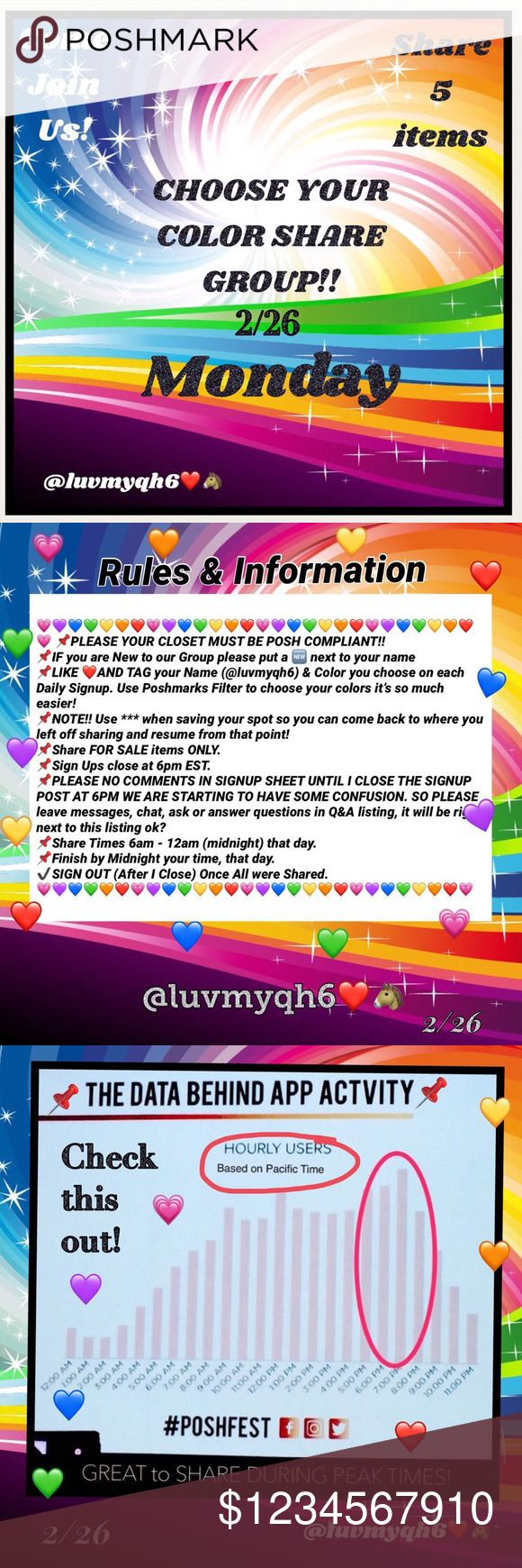 💗Monday's CSG Signup CLOSED!💜 ❤️❤️❤️❤️❤️❤️❤️❤️❤️❤️❤️❤️❤️❤️❤️ 💚Please read our second picture,🧡it has all our Instructions and Rules for💙Our Great Color Share Group!💜But if there are any questions or concerns please 💛tag me @luvmyqh6 in the CSG Q&A Listing OK? Thank you ladies for making this a more fun filled Color Share Group, So lets go have another fun filled colorful sharing tomorrow! 💁🙋♀️ ❤️❤️❤️❤️❤️❤️❤️❤️❤️❤️❤️❤️❤️❤️❤️ Other