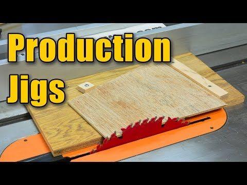 Изготовление Производство Балки: установка Table Saw & Торцовочная пила для повторяющихся Cuts - YouTube