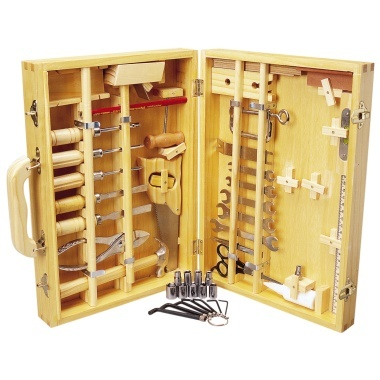 50 Piece Tool Set In Wooden Case 24.99