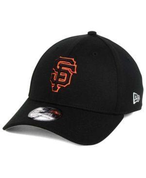 New Era San Francisco Giants Team Pennant 39THIRTY Cap - Black