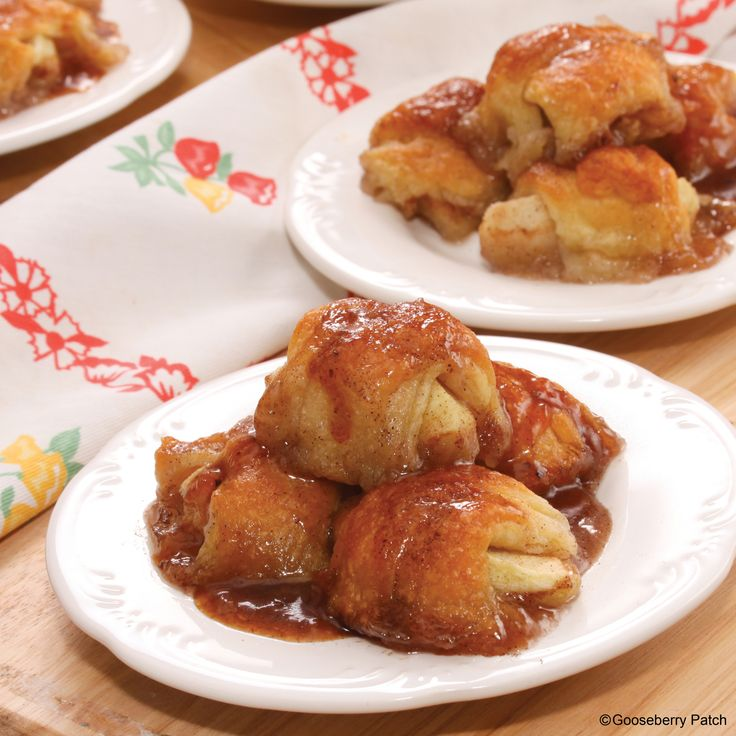 Gooseberry Patch Recipes: Sweet Mini Apple Dumplings from our new cookbook Easy Classic Casseroles