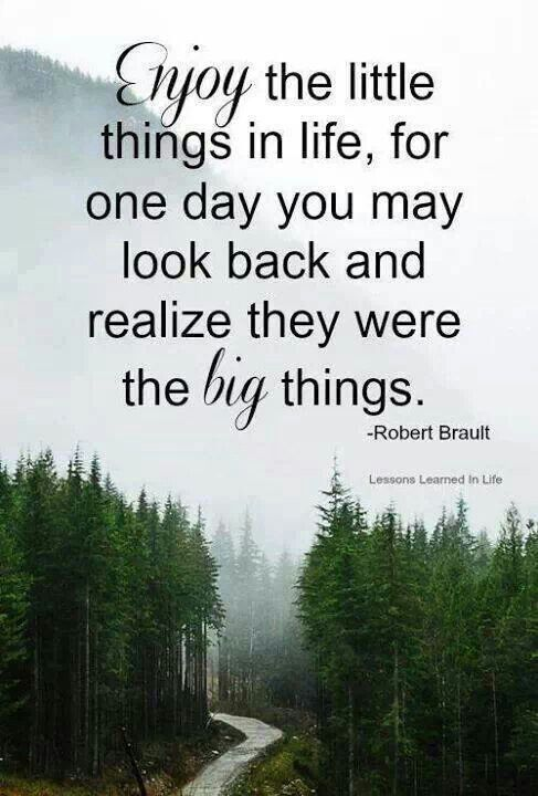 Enjoy the little things in #life #quote #Christmas #thanksgiving #Holiday #quote