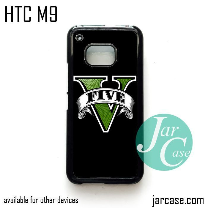 GTA V Logo Phone Case for HTC One M9 case and other HTC Devices