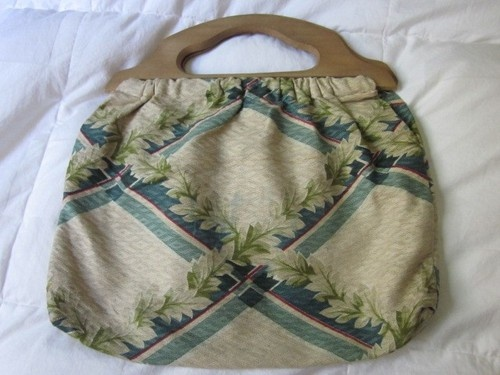 1000 Images About Wooden Handle Bag On Pinterest