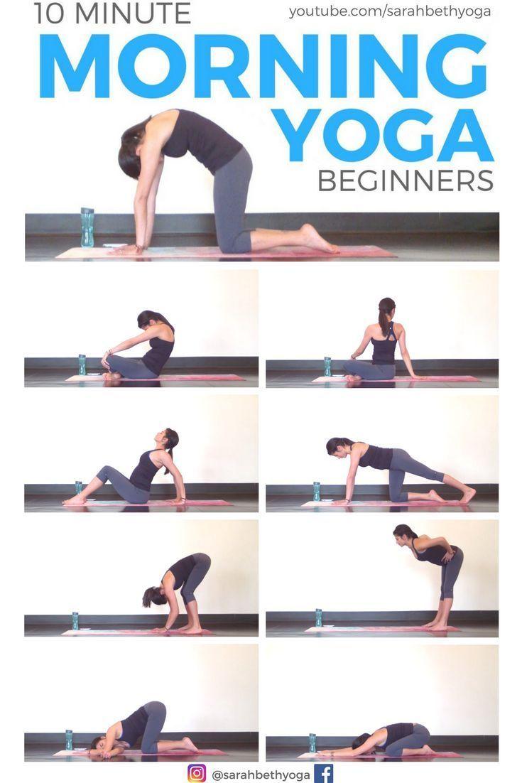 PIN FÜR SPÄTER! Klicken Sie sich für das KOSTENLOSE Youtube-Yoga-Video durch. Ein schneller und einfacher