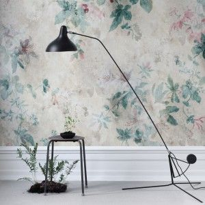 Wallpaper Faded Passion from collection Flora Sandbergica by Sandberg Wallpaper