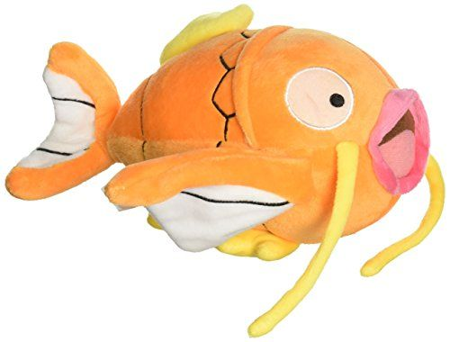 Magikarp Fish Plush Toy Pokemon Gold Koiking Water Type Stuffed Animal Figure Doll 8 by Generic