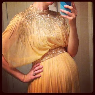 Vintage Maternity sparkle