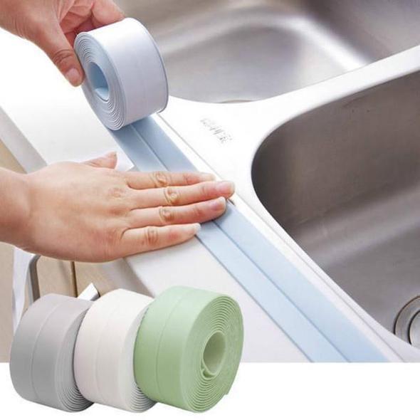 Waterproof Mildew Tape For Bathtub Bathroom Kitchen Cccinlife Com In 2020 Repair Tape Diy Home Repair Home Repairs