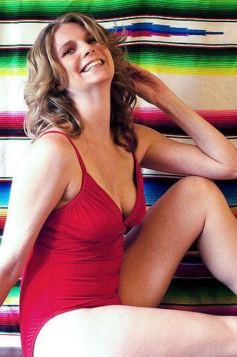 farrah fawcet red bikini