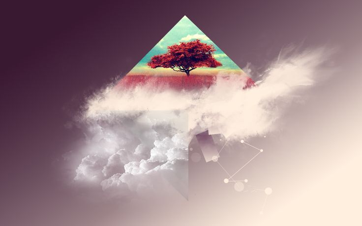 Hipster Wallpaper For Android: Hipster Triangle Post Modern Abstract Minimalist Art