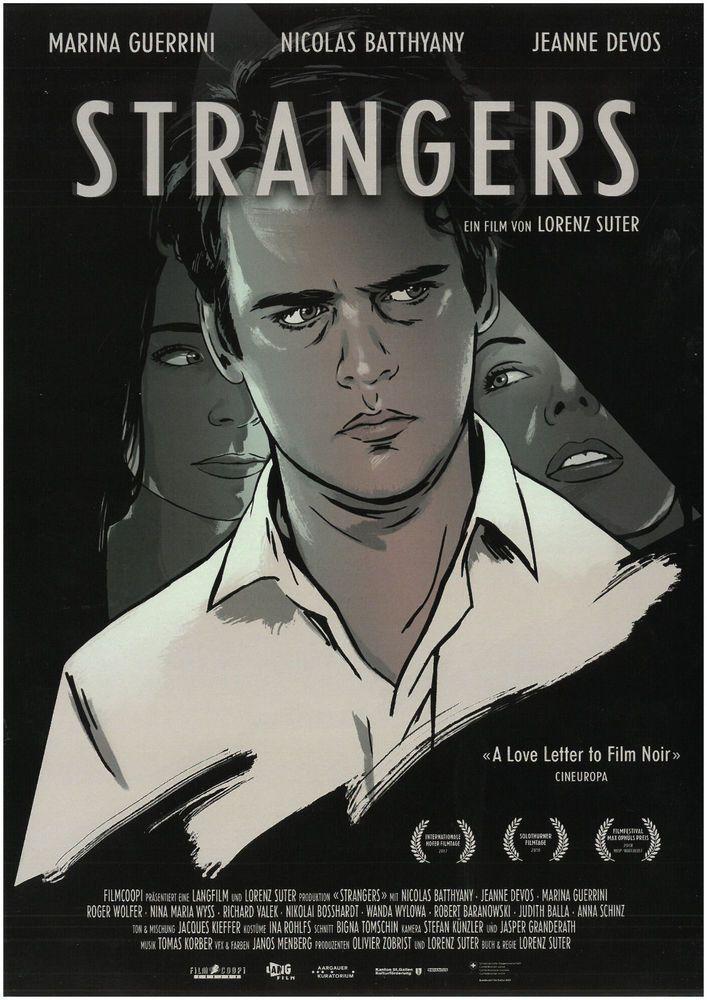 STRANGERS 2018 - ORIG. FILMPOSTER A4 CINEMA AD