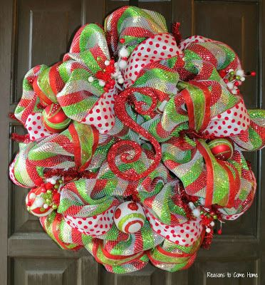 455 best images about christmas wreaths swags trees on pinterest christmas mesh wreaths. Black Bedroom Furniture Sets. Home Design Ideas