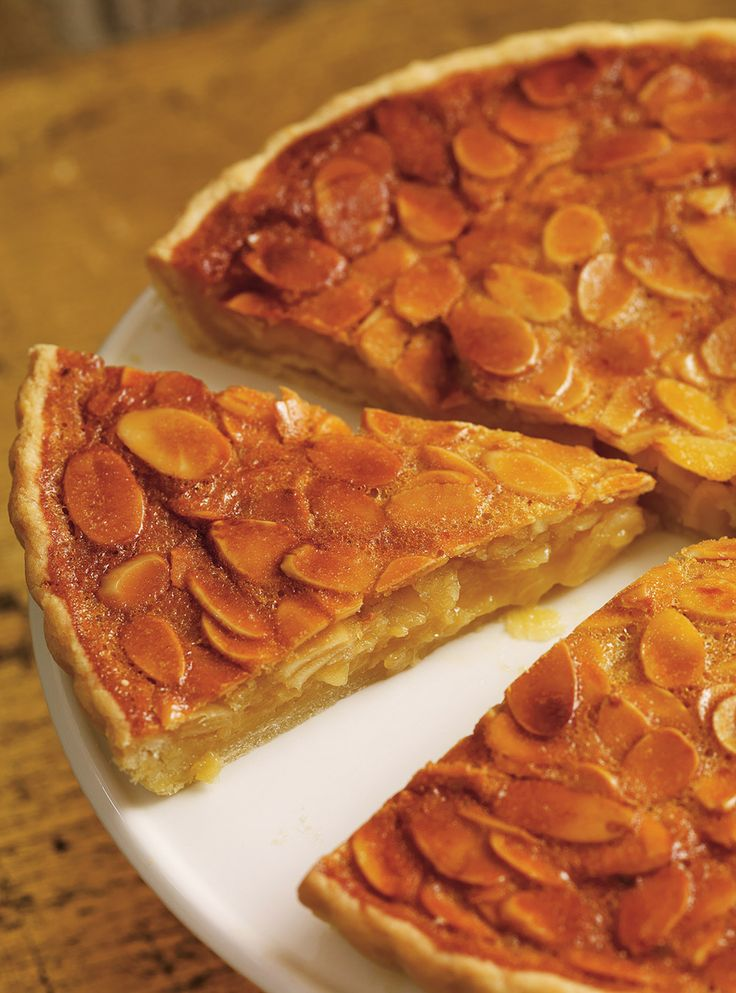 Recette de Ricardo de tarte aux amandes et au miel