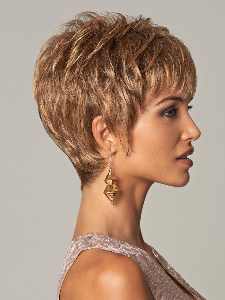Nobility Synthetic Wig By Eva Gabor Short Hair With Layers