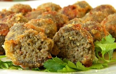 Genoese Pesto Meatballs with Thermomix