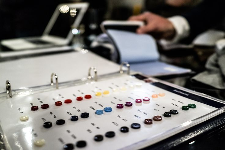 Your choice of buttons on made-to-measure shirts at Sauma. Photo (c) Risto Kantola
