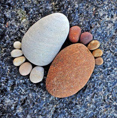Steine auf dem Weg ...