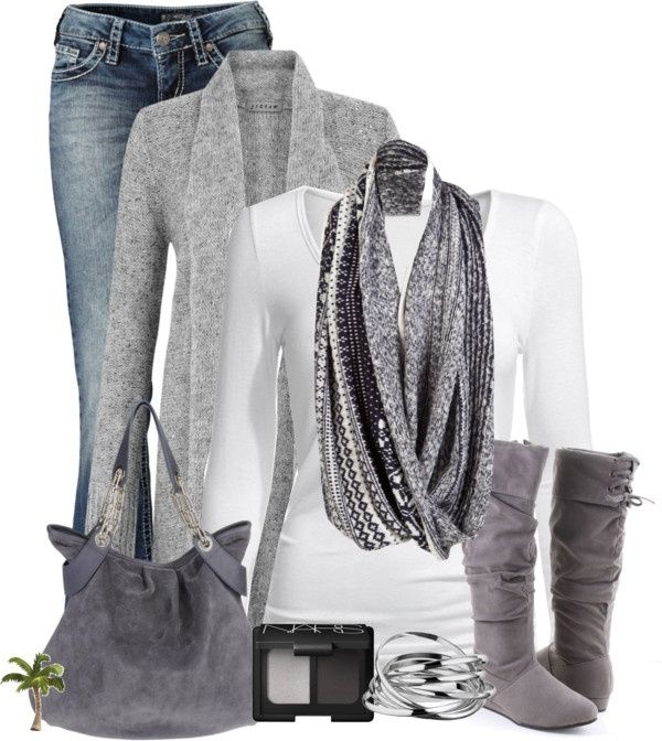 Grey outfits