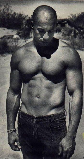Vin Diesel, eye candy mmm