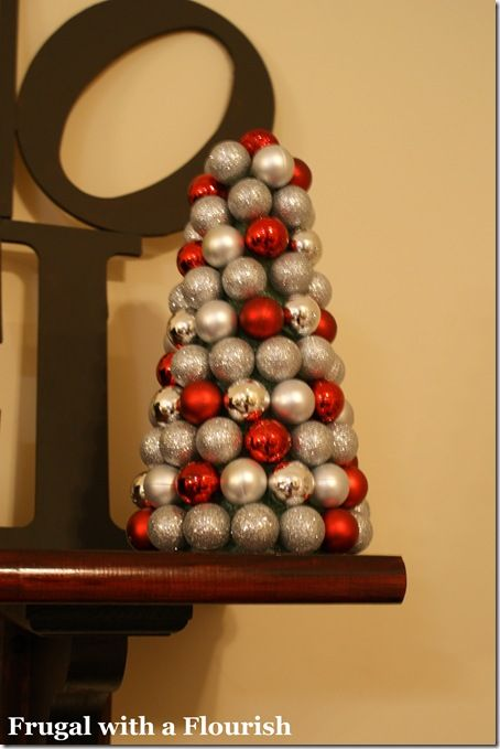 Holiday Crafts: Ornament Foam Tree.