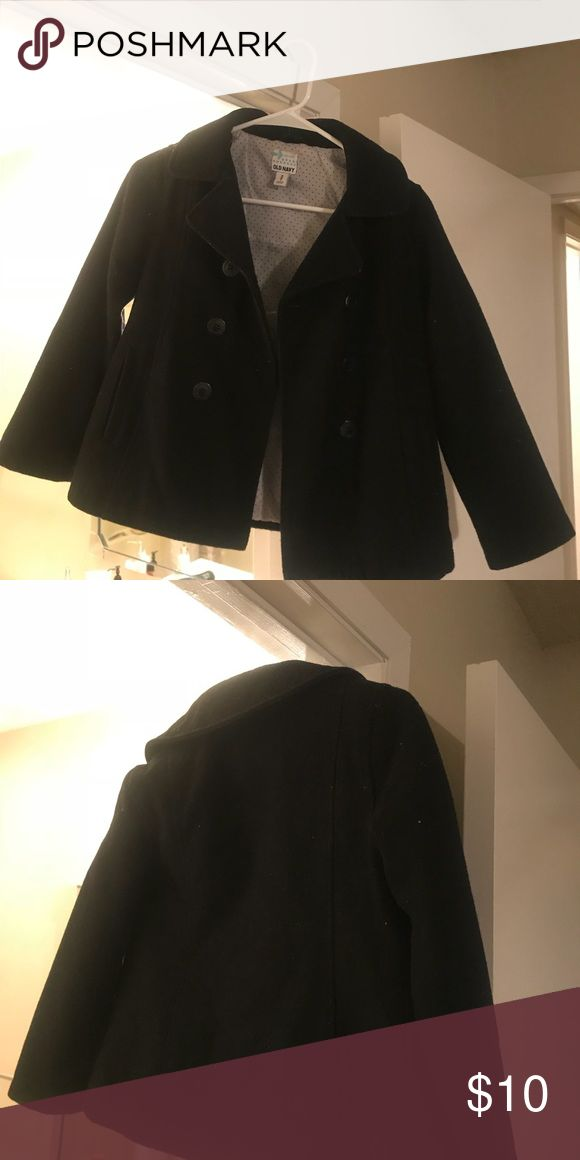 Child's Peacoat I have two girls Peacoat one brown and one black. Worn maybe 3 times each. Perfect condition. Size Medium(around a 8-10) Old Navy Jackets & Coats Pea Coats