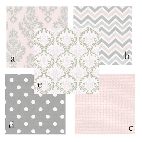 love this color combo for our baby girl | Crib bedding ...