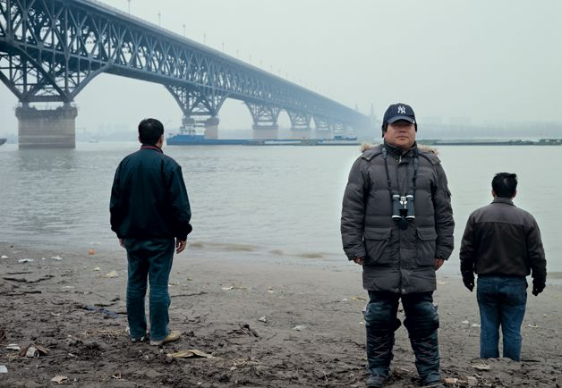 """Yangtze River suicide catcher Mr. Chen:  """"my job is to get that person off the bridge as quickly as possible."""""""