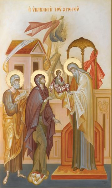 The Presentation of Christ in the Temple - by George Kordis