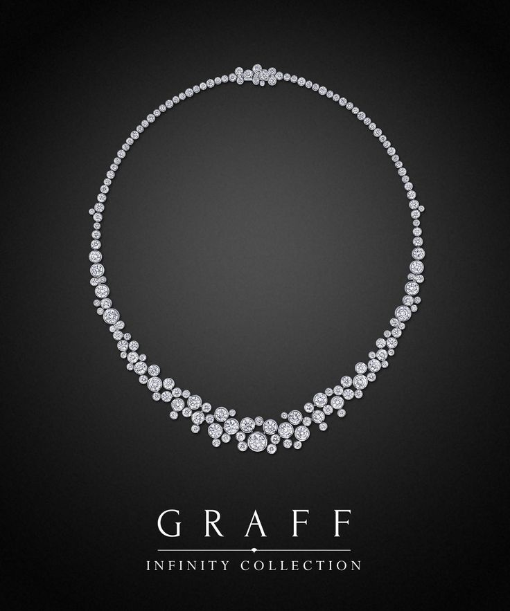 Graff Diamonds: Infinity Necklace