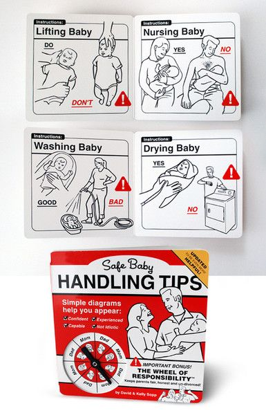 Safe Baby Handling Tips Bundle - Our ultimate baby guide got a little update. Now it's even MORE helpful!