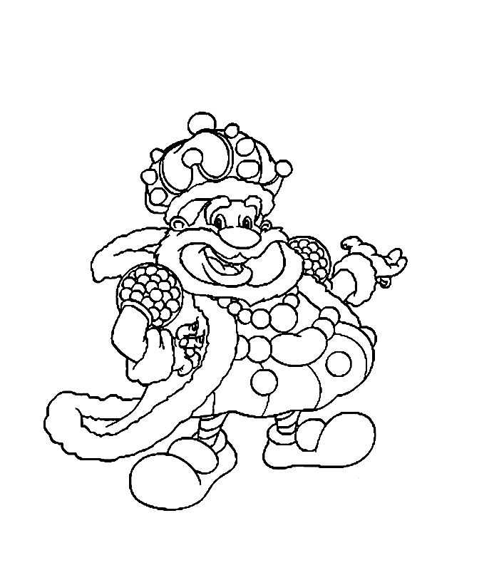 candy land characters coloring pages - photo#23