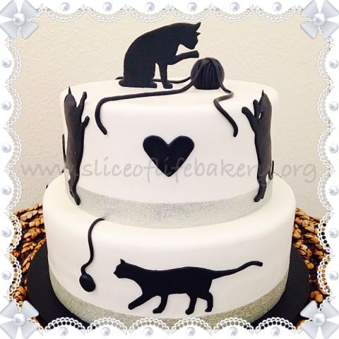 Best Cakes I Made Images On Pinterest Bakeries Happy - This cat eating a birthday cake is everything you need in life