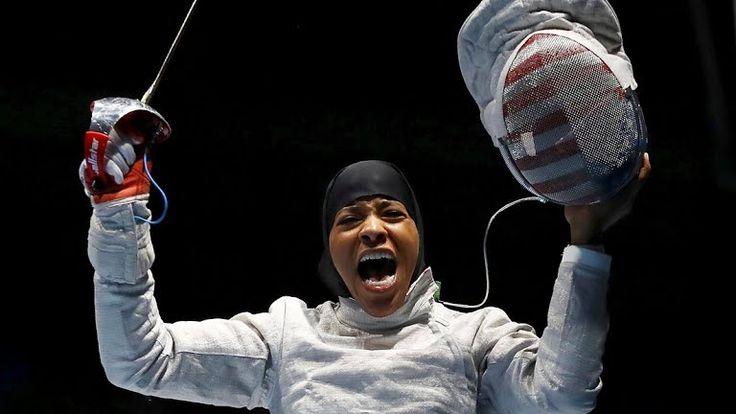 Rio Olympics Fencing - Ibtihaj Muhammad