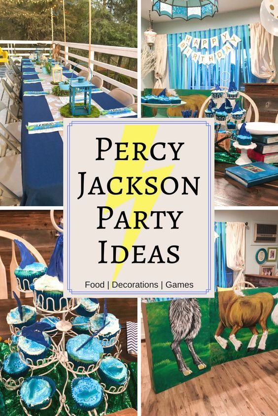 Throw An Unforgettable Party With These Fun Percy Jackson Party