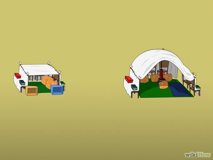 how to build a blanket fort for adults
