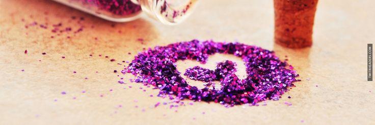 Purple Glitter Twitter Header Cover - TwitrHeaders.com ...Twitter Headers Glitter